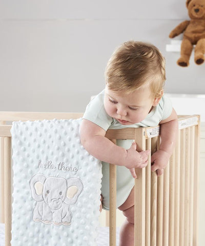 Sheep Double-Sided Baby Blanket