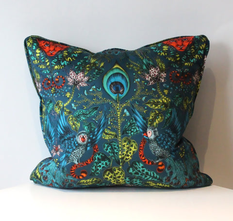 Amazon Navy Cushion