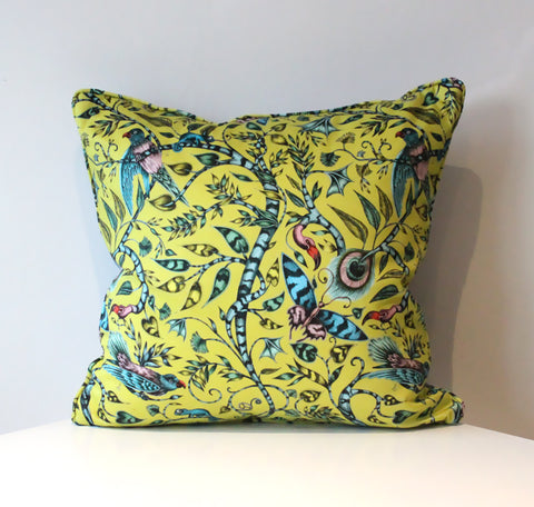 Rousseau Lime Cushion