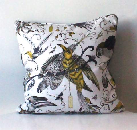 Audubon Gold Cushion