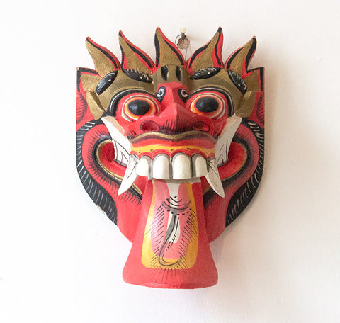 Indonesian Mask - Small