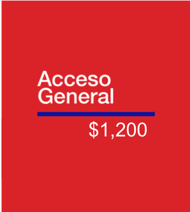 ACCESO GENERAL | Congreso 2019