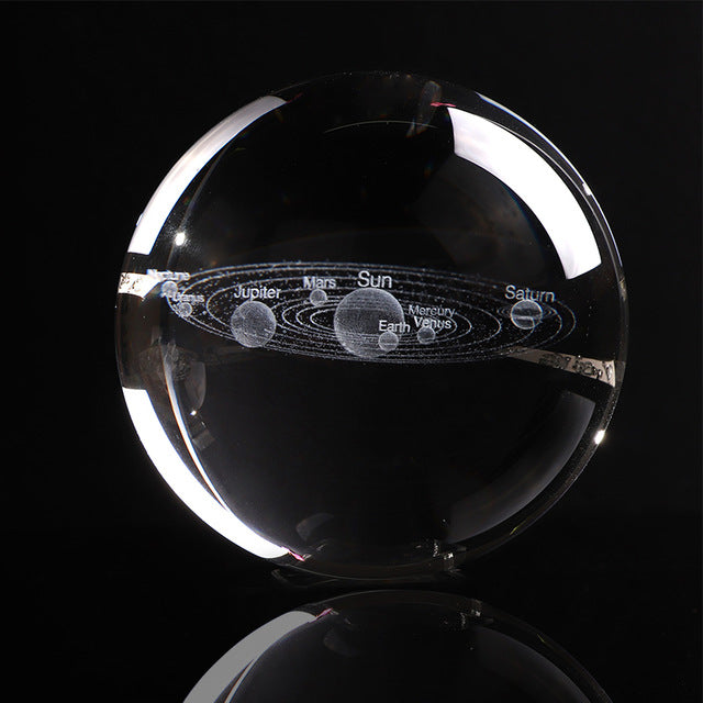 estore kart home accessories mothers gift Laser Engraved Solar System 3D Ball