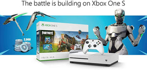 Xbox One S Fortnite Eon Cosmetic Epic Bundle: Fortnite Battle Royale, Eon Cosmetic, 2,000 V-Bucks and Xbox One S 1TB Gaming Console with 4K Blu-Ray Player