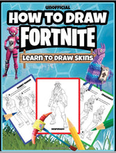 Load image into Gallery viewer, How to Draw Fortnite: Learn to Draw Skins