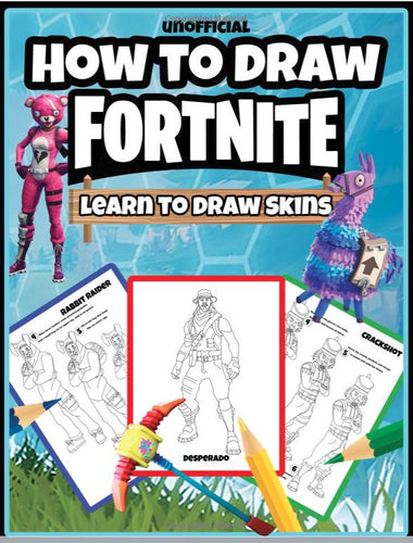 How to Draw Fortnite: Learn to Draw Skins