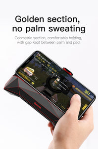 Mobile Gaming smartphone Holder with cooling system