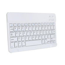 Load image into Gallery viewer, Aluminum gaming keyboard Ultra Slim Wireless Bluetooth Keyboard For Apple iPad Mac PC Macbook