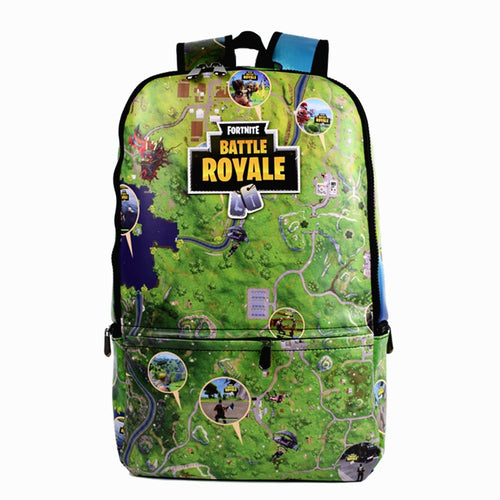 Fortnite Map-style Backpack