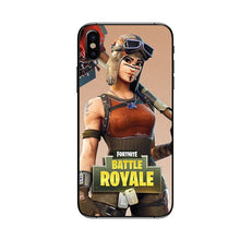 Load image into Gallery viewer, Fortnite Battle Royale Phone Case for iPhone XS Max 7 8 plus  Game Case for iPhone 6 6S 7 8 X 10