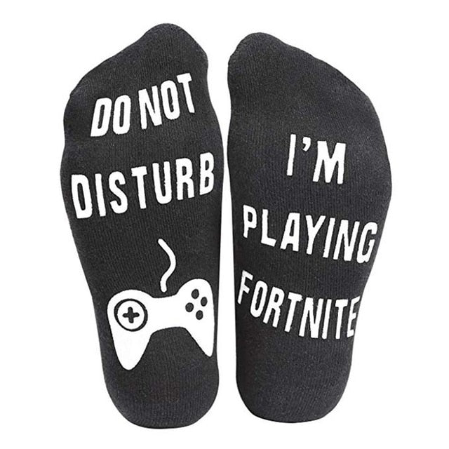 I 'm playing Fortnite Socks