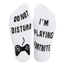 Load image into Gallery viewer, I 'm playing Fortnite Socks
