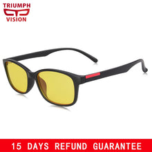 Load image into Gallery viewer, Gaming Glasses - Anti Glare - Anti Blue-Rays - Computer Sunglasses - Men's - By Triumph Vision