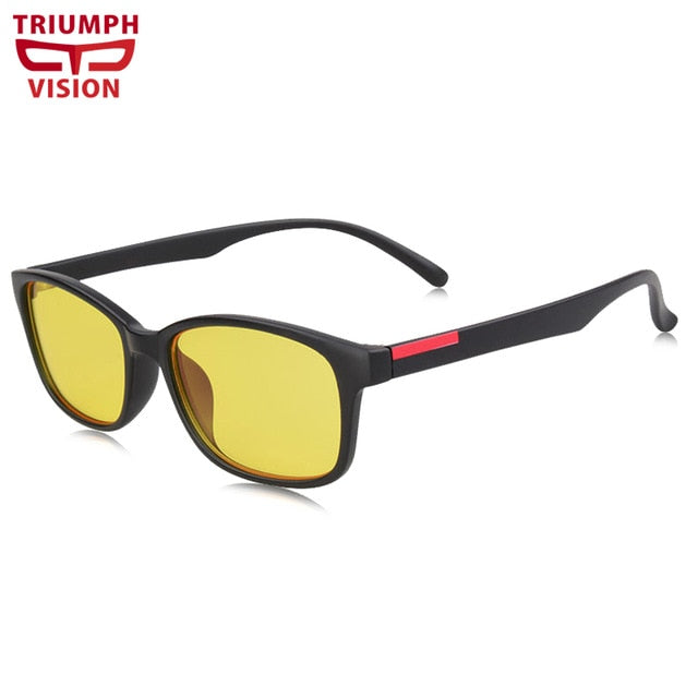 Gaming Glasses - Anti Glare - Anti Blue-Rays - Computer Sunglasses - Men's - By Triumph Vision