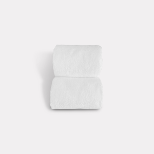 Muslin Face Washcloths and Bamboo Towel Set - 4 Pack
