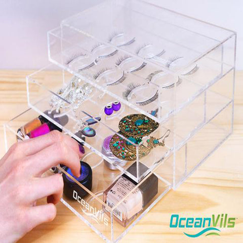 Large Eyelash Holder Case Storage Box