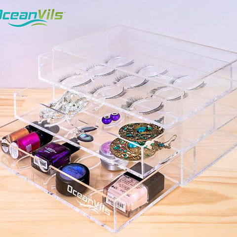 Image of Large Eyelash Holder Case Storage Box