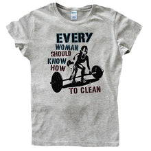 Load image into Gallery viewer, Every Woman Should Know How To Clean Tshirt