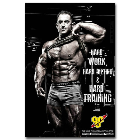 The Trifecta BSN Physique Canvas