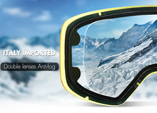 Load image into Gallery viewer, COPOZZ Ski Goggles with Magnetic Quick-change Anti-fog UV400 Night Skiing Goggles