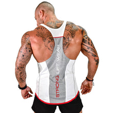 Load image into Gallery viewer, Workout Fitness Bodybuilding sleeveless shirt