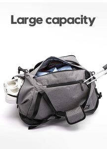 Ultimate Gym Bag USB Charging, Water Repellent for extreme weather with backpack support