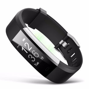 ID115 plus Smart Wristband Bluetooth Bracelet Pedometer Fitness Tracker for Iphone and Android