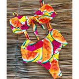 Colorful Watermelon Beach Swimsuit