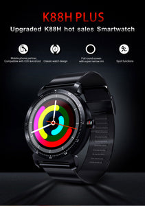 K88H Plus Fitness Smart Watch non-waterproof 1.3 inch Metallic Band