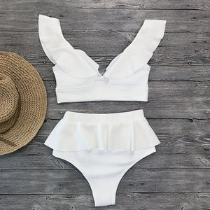 Fashion Ruffle Swimsuit