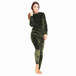 Pampered Warm Velvet Casual Comfort Suit