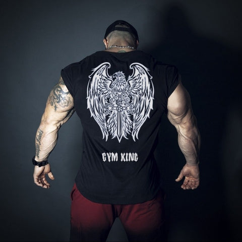 Gym King Rising Bodybuilding Tank Top