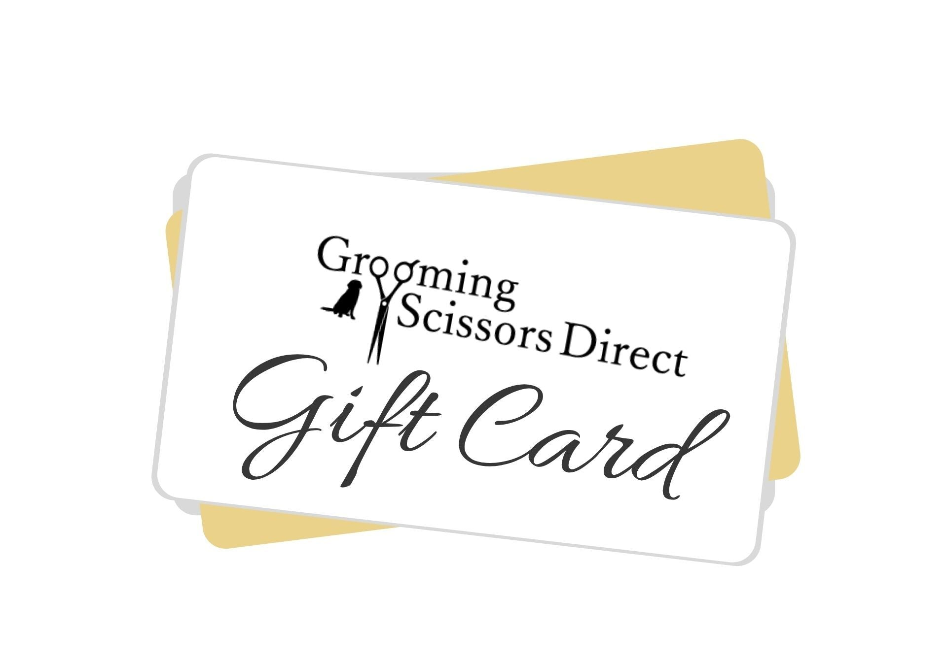 Grooming Scissors Direct Gift Card (6126763409597)