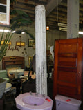 Large 19th Century Fluted Cedar Columns