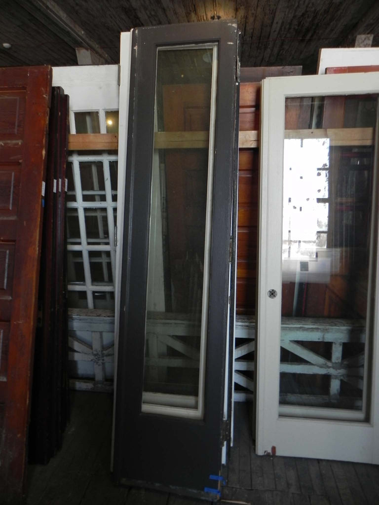 Pair(s) 1920's Vintage Exterior Grade Single Pane French Doors ... on