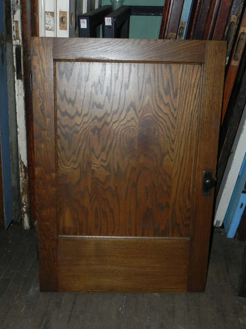 Small Vintage Oak 1 Panel Access Door