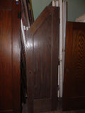 Vintage One Panel Angled Access Door in Oak