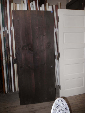 1920's Root Cellar Plank Door