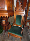 Pair of Vintage Gothic Altar Chairs