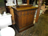 Beautiful Antique Podium in Oak