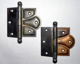 Vintage Arts & Crafts Exposed Lobe Hinges