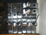 Retro Mid Century Brushed Nickel Entry Set (options avail)
