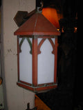 Vintage Copper Exterior Porch Sconce Light