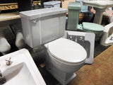Vintage Briggs Toilet & Sink in Gray