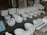 Large Assortment of Vintage Toilets