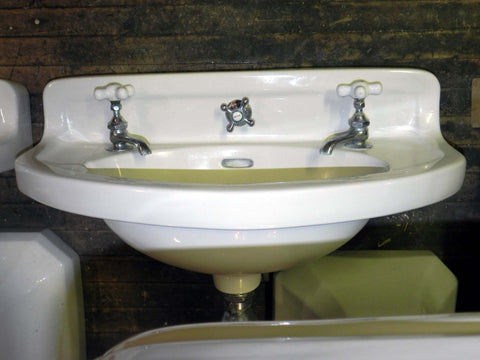 Vintage Standard Bow Front Wall Sink(s) in White