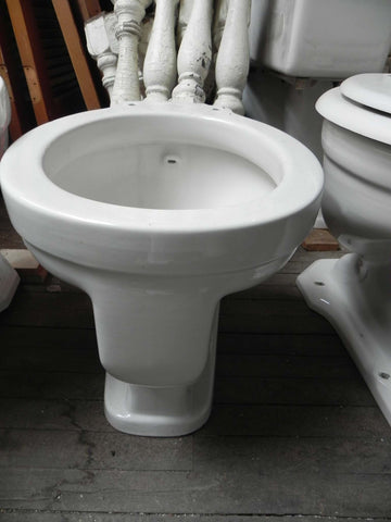 Antique Neu Era White Toilet Bowl by Crane with Back Spud