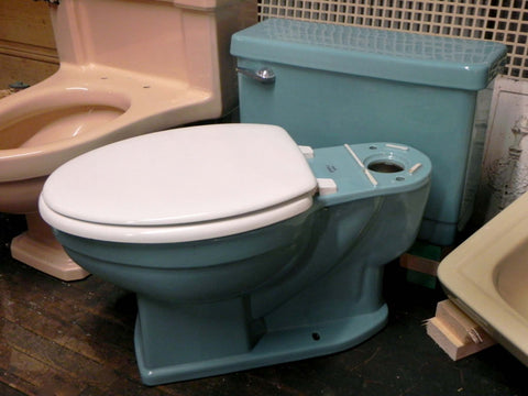 Large Assortment Of Vintage Toilets Toledo Architectural