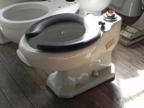 Vintage Standard Toilet Bowl for use with Sloan Valve