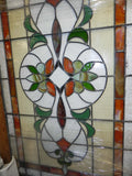 Large Vintage Stained Glass Panel by Phoenix Glass